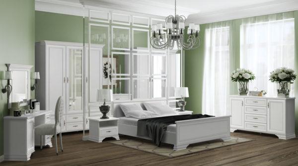 Спальня Kentaki Белый