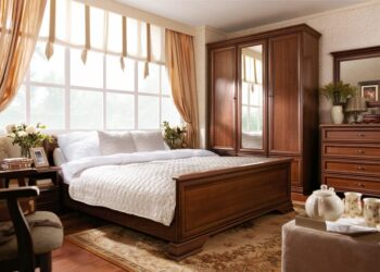 Спальня Kentaki Каштан