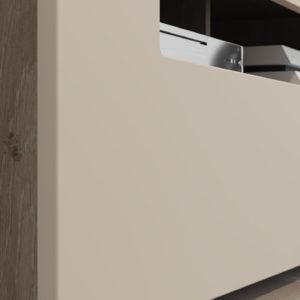 Набор мебели «Фьюжн» №2 (Бежевый, Дуб Сонома трюфель)