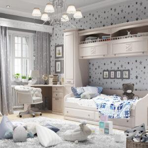 Набор детской мебели «Сабрина» №2 (Кашемир)