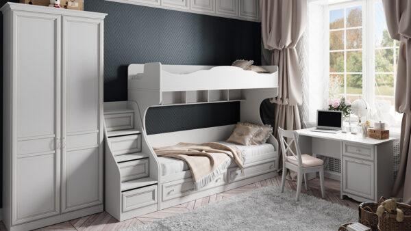 Набор детской мебели «Франческа» №1 (Дуб Седан)