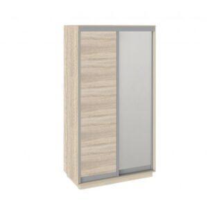 Шкаф-купе 2-х дверный «Румер» (Дуб Сонома, Дуб сонома/Зеркало)